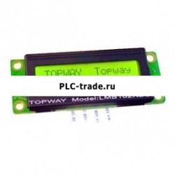 16x1 Character LCD модуль LCM