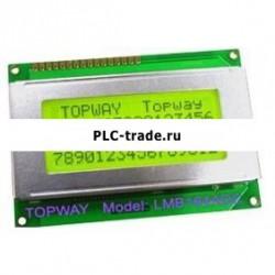 16x4 Character LCD модуль LCM