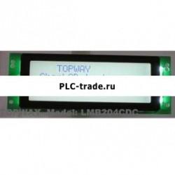 20x4 Character LCD модуль LCM