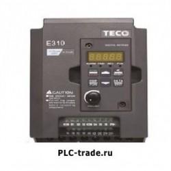 TECO AC частотный преобразователь E310 E310-2P5-H 0.5HP 400W 1/3 фазы 200~240V 50/60 Hz