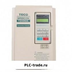 TECO AC частотный преобразователь MA 7200MA-240V-1HP JNTMBGBB0001JKSU2 1HP 750W 200V~240