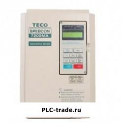 TECO AC частотный преобразователь MA 7200MA-380V-1HP JNTMBGBB0001AZSUN 1HP 750W 380~480V
