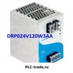 Delta DIN Rail блок питания CliQ DRP024V120W3AA 24V 120W
