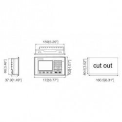 3.7 дюйм Cermate HMI панель оператора PL037-LSK