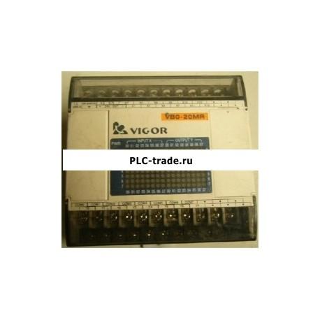 ПЛК 24VDC 12 DI 8 DO реле VIGOR VB0-20MR-D