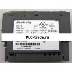 1734-OA4 AB ПЛК 75mA цифровой AC модуль