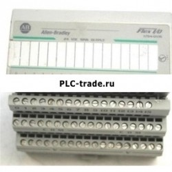 1794-OB8 AB Allen-Bradley ПЛК 24VDC FLEX цифровой DC модуль