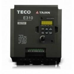 1ф/3ф 200V 3.1A 0.4KW 0.5HP TECO Частотный преобразователь E310-2P5-H