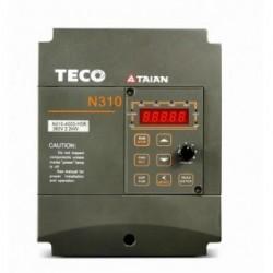 1ф/3ф 200V 3.1A 0.4KW 0.5HP TECO Частотный преобразователь N310-20P5-H