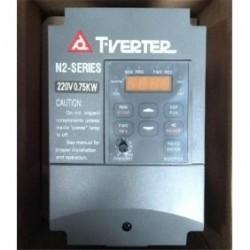 1ф/3ф 200V 4.5A 0.75KW 1HP TECO Частотный преобразователь N2-201-H