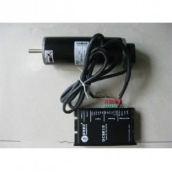 Leadshine 30V 120W 50oz-in 0.35N.M 2500RPM DC Brushed набор серводвигатель + сервопривод DCM50207-07D-1000+DCS810