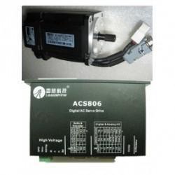 Leadshine 36VDC 100W 45oz-in 0.32N.M 1000ppr энкодер AC набор серводвигатель + сервопривод ACM601V36-01-1000+ACS80