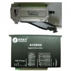 Leadshine 36VDC 100W 45oz-in 0.32N.M 2500ppr энкодер AC набор серводвигатель + сервопривод ACM601V36-01-2500+ACS80