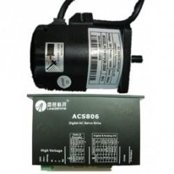 Leadshine 36VDC 100W 45oz-in 0.32N.M 2500ppr энкодер AC набор серводвигатель + сервопривод ACM601V36-2500+ACS806