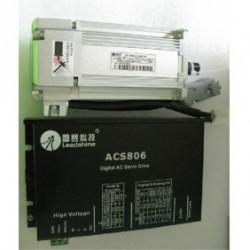 Leadshine 36VDC 200W 90oz-in 0.64N.M 2500ppr энкодер AC набор серводвигатель + сервопривод ACM602V36-01-2500+ACS80