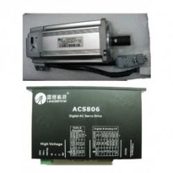 Leadshine 60VDC 400W 180oz-in 1.28N.M 2500ppr энкодер AC набор серводвигатель + сервопривод ACM604V60-01-2500+ACS8