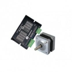Leadshine NEMA14 35mm 9.9oz-in 0.07N.M 18-36VDC шаговый двигатель + драйвер 35HS01+M415B