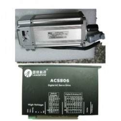 Leadshine 60VDC 400W 180oz-in 1.28N.M 1000ppr энкодер AC набор серводвигатель + сервопривод ACM604V60-01-1000+ACS8