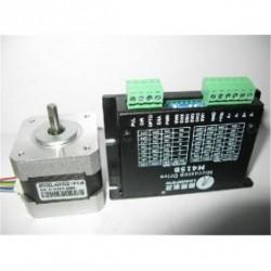 Leadshine NEMA17 42mm 31.2oz-in 0.22N.M 18-36VDC шаговый двигатель + драйвер 42HS02+M415B