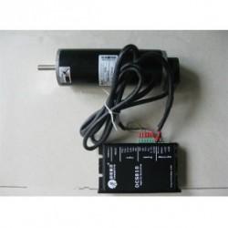 Leadshine 24V 80W 36oz-in 0.25N.M 3400RPM DC Brushed набор серводвигатель + сервопривод DCM50205D-1000+DCS810
