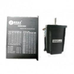 Leadshine NEMA34 86mm 972oz-in 6.8N.M 180-240VAC 3фазы шаговый двигатель + драйвер 863S68H+3DM2283