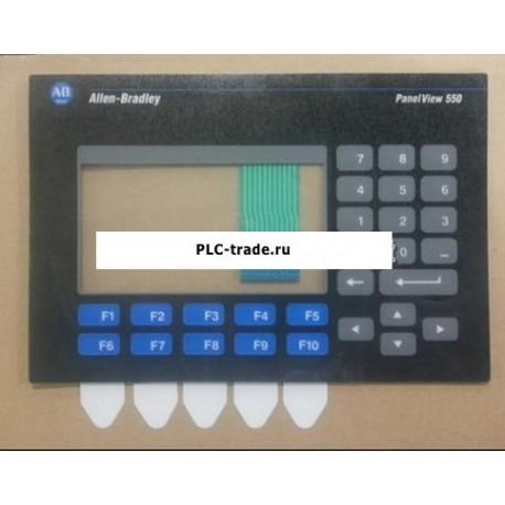 Panelview550 2711-K5A8 2711-B5A2 2711-K5A5X Allen Bradley мембранная клавиатура