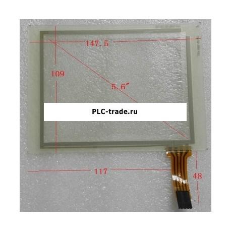 "5.6"" TR4-056F-05 ESA VT525W Сенсорное стекло (экран)"