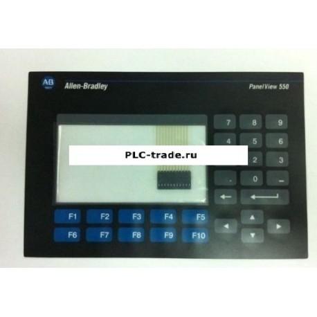 2711-K5A1 2711-K5A1L Allen Bradley PanelView 550 мембранная клавиатура