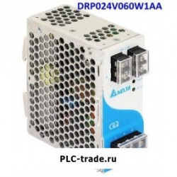 Delta DIN Rail блок питания CliQ DRP024V060W1AA 24V 60W