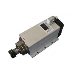 Шпиндель HQD GDF60-18Z/4.5  ER25 (4.5 кВт, воздушное охлаждение, крепление)