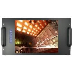 RL serie ADES corporation - монитор LCD / для монтажа в стойку / промышленный