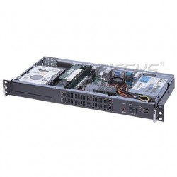 NDS-102M AICSYS Inc - крейт для монтажа в стойку / 19 дюймов / 1U / с 2 отсеками для дисков