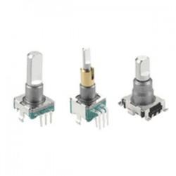 EC11 Series ALPS Electric - инкрементный кодовый датчик угла поворота / со сплошным валом / компактный / из металла