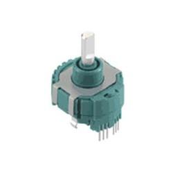 EM20B Series ALPS Electric - инкрементный кодовый датчик угла поворота / магнитный / со сплошным валом / бесконтактный