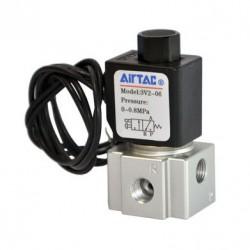 3V2 series Airtac Automatic Industrial - электроклапан с прямым приводом / NF / NO / воздух