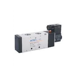4V400 series Airtac Automatic Industrial - пневматический распределитель с контролируемым приводом / управление от соленоида / 5
