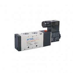 4V300 series Airtac Automatic Industrial - пневматический распределитель с контролируемым приводом / управление от соленоида / 5