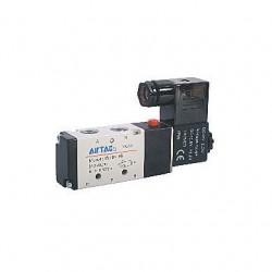 4V200 series Airtac Automatic Industrial - пневматический распределитель с контролируемым приводом / управление от соленоида / 5