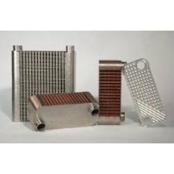 Baode heat exchanger co.,ltd - теплообменник с припаянными пластинами / жидкость/жидкость / из меди