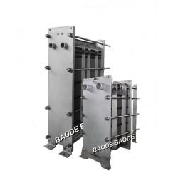 Baode heat exchanger co.,ltd - теплообменник с пластинами / жидкость/жидкость / санитарный / для процесса пастеризации