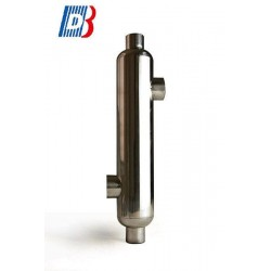 St16 stainless steel pool heat e Baode heat exchanger co.,ltd - теплообменник с трубами и каландром / жидкость/жидкость / из нер