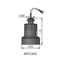 Ультразвуковой датчик уровня жидкости HSPA-34N-4 Nivelco HSPA34N4