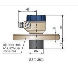 Ультразвуковой датчик уровня жидкости HSGV-36H-2 Nivelco HSGV36H2