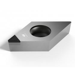 Beijing Worldia Diamond Tools Co., Ltd - резательная пластина PCD / для токарной обработки / со стружколомом