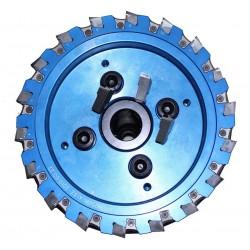 Beijing Worldia Diamond Tools Co., Ltd - трехсторонняя фреза / с пластинами / для обработки поверхности / PCD