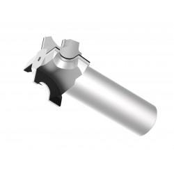 Beijing Worldia Diamond Tools Co., Ltd - фреза два размера / с пластинами / PCD / по нескольким материалам