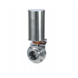 BOAO Machinery Company - клапан дроссельная заслонка / с пневматическим управлением / для контроля / для жидких пищевых продукто