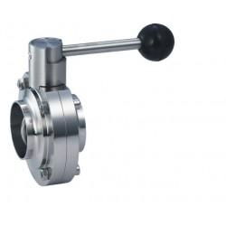 BOAO Machinery Company - клапан дроссельная заслонка / ручной / для напитка / из нержавеющей стали