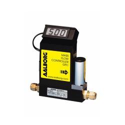 GFC Aalborg Instruments - массовый тепловой регулятор расхода / для газа / из нержавеющей стали / компактный