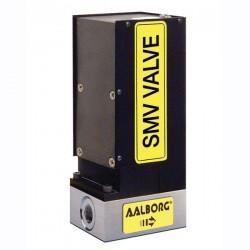 SMV Aalborg Instruments - игольчатый клапан / дозирующий / для газа / из алюминия